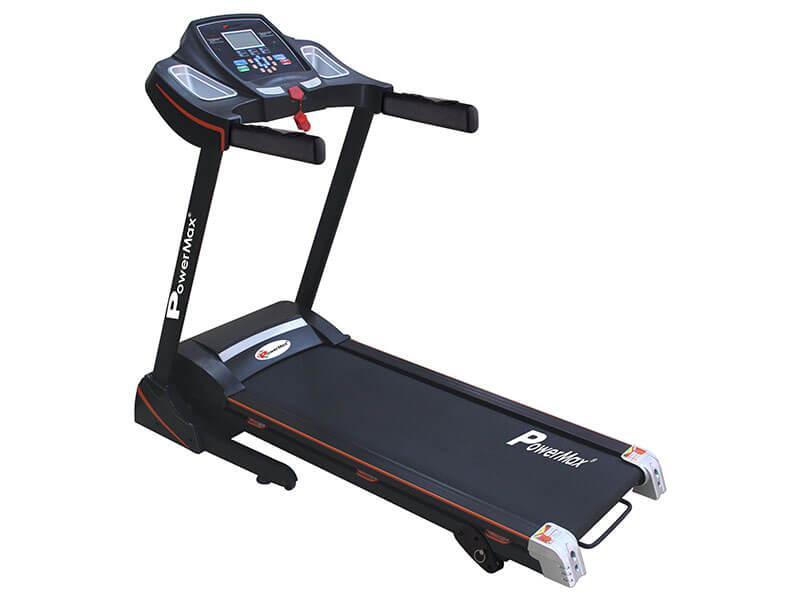 TDM-100S<sup>®</sup> Motorized Treadmill - With Jumping wheels and Auto Lubrication