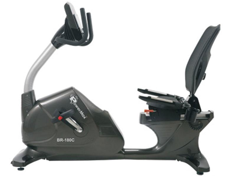 <b>BR-180C</b> Commercial Recumbent Bike