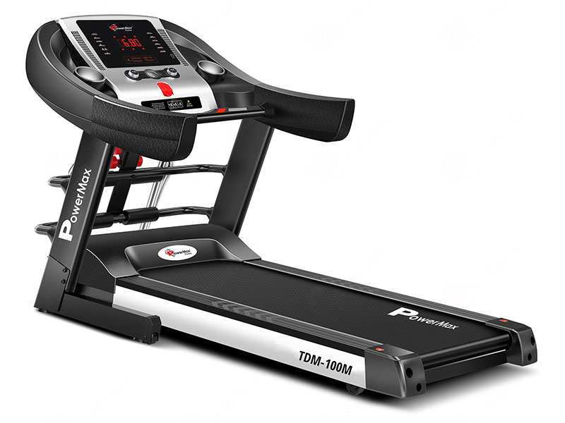 TDM-100M<sup>®</sup>  Semi-Auto Lubrication Multifunction Treadmill