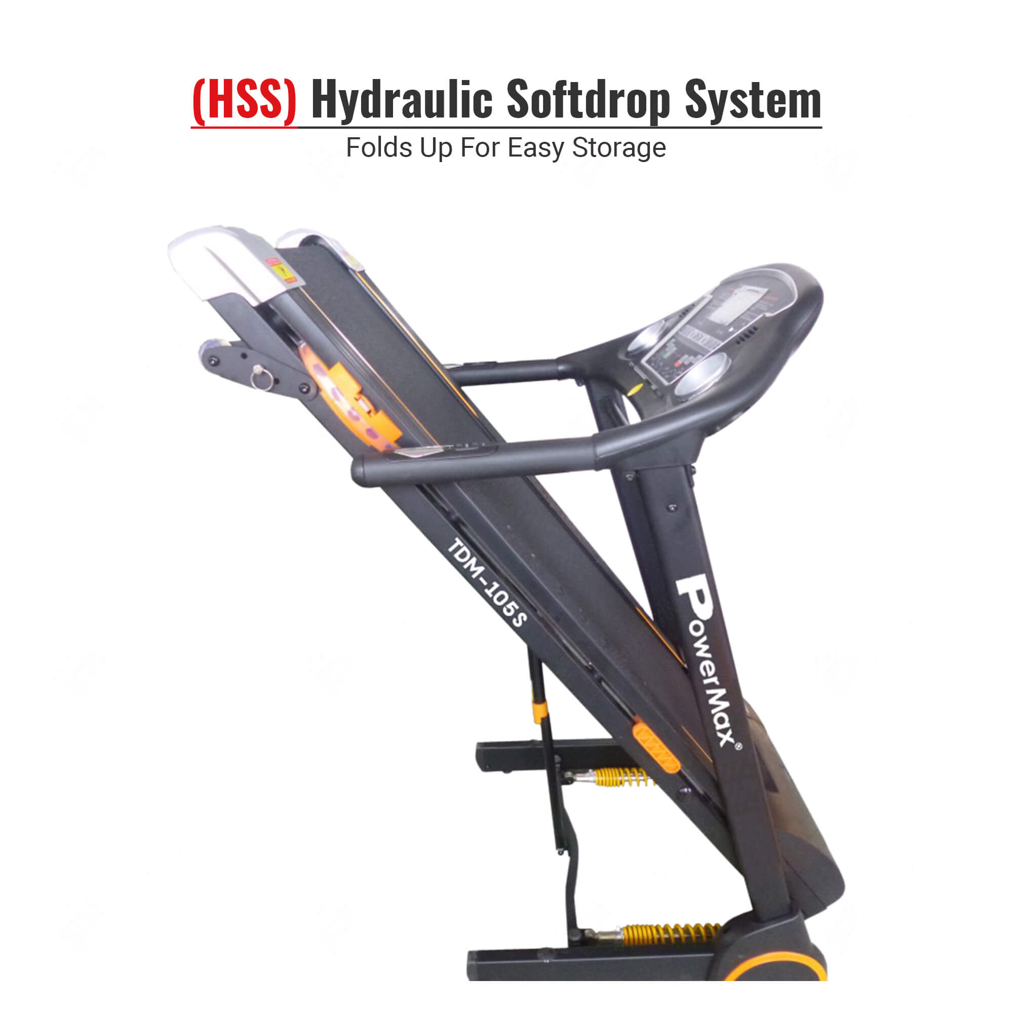 TDM-105S® Semi-Auto Lubricating Treadmill