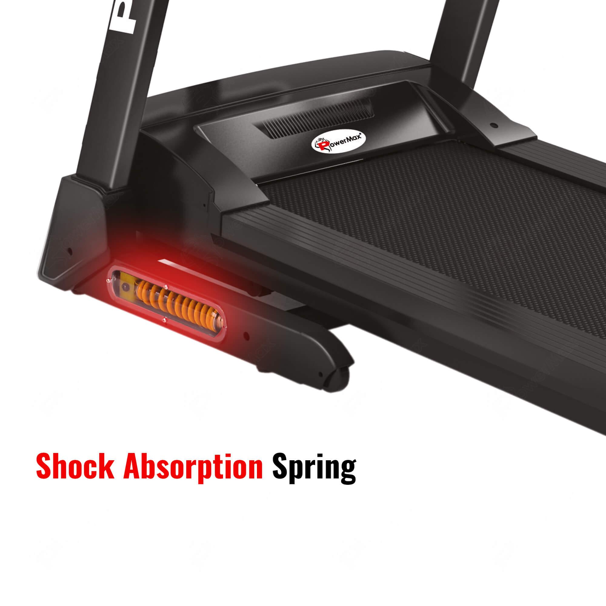 TDM-110S® Motorized Treadmill with Semi-Auto Lubrication