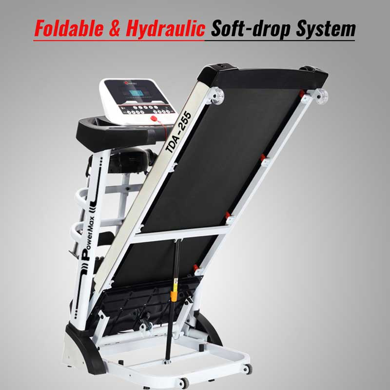TDA-255 Multifunction Motorized Treadmill with Auto Incline