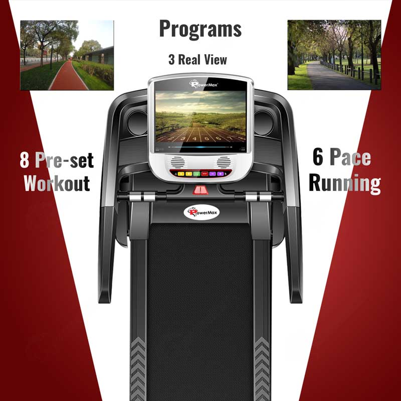 "TDA-260S Multifunction Treadmill with 10.1"" Full HD Digital TFT Touch Screen powered by Android OS"
