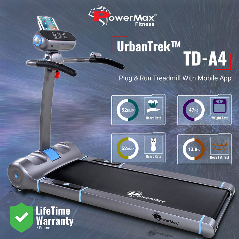 UrbanTrek™ TD-A4 Motorised 100% Pre-Installed