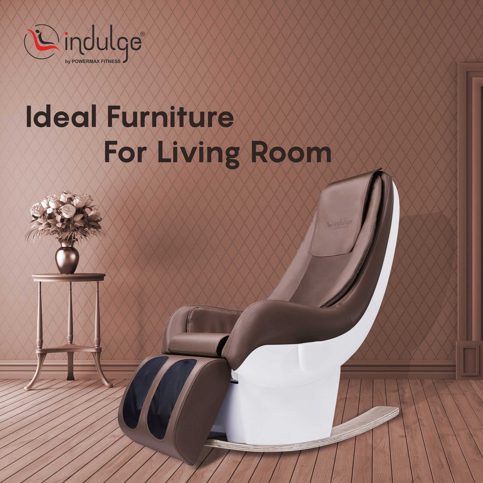 Indulge iS-7R Luxurious Rocking Massage Chair