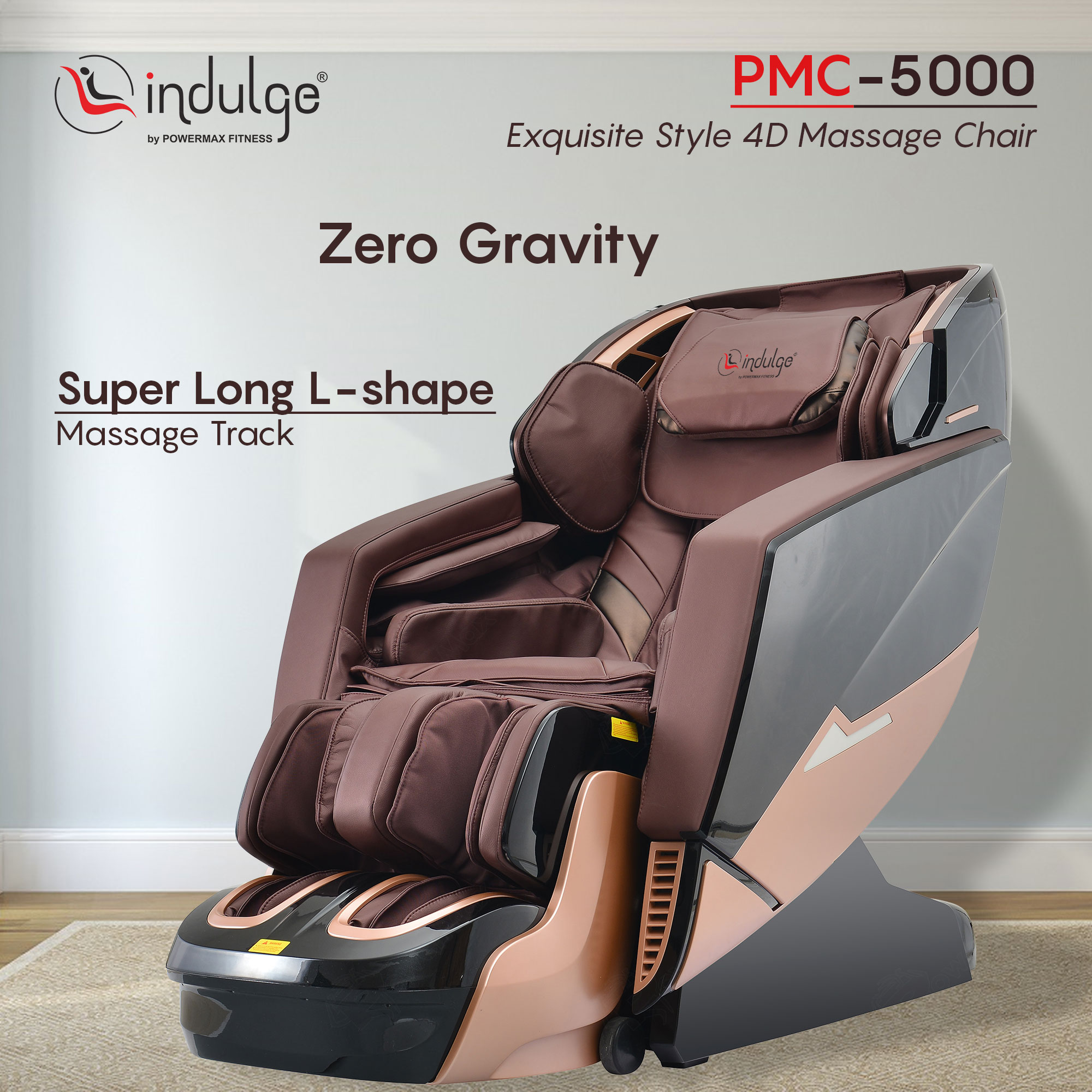 Indulge PMC-5000 Exquisite Style 4D Massage Chair