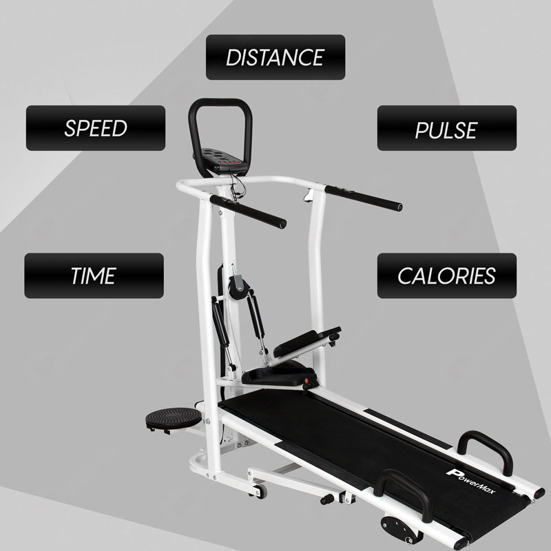 MFT-410 - 4 in 1 Multi-function Manual Treadmill