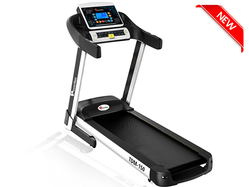 <b>TDA-150<sup>®</sup></b> Auto Lubricating Treadmill with Auto Incline & Smart Run Function