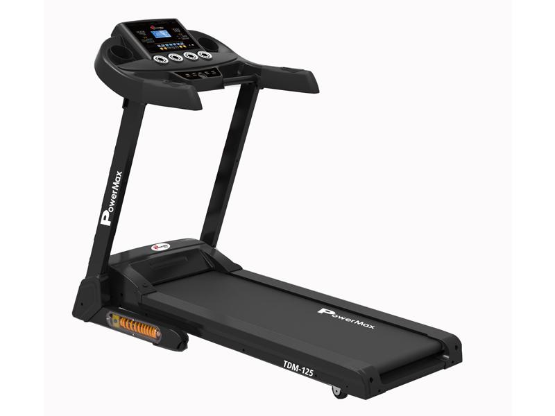 <b>TDM-125<sup>®</sup></b> Semi-Auto Lubricating Treadmill with Android & iOS App