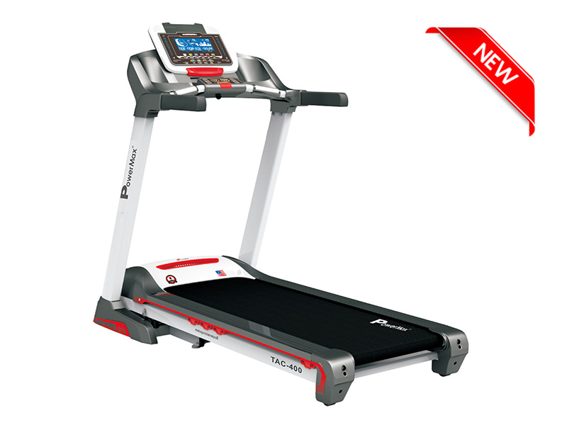 <b>TAC-400</b><sup>®</sup>Semi-Commercial AC Motorized Treadmill with Android & iOS App