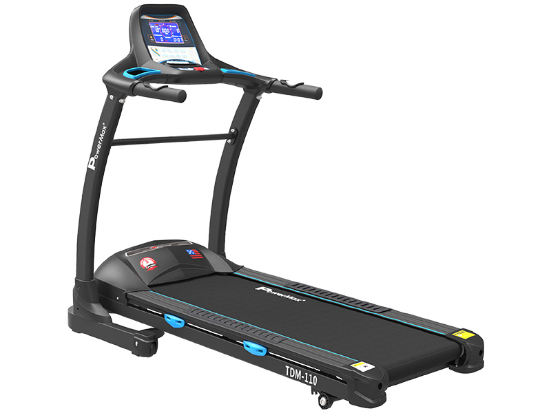 "<b>TDM-110<sup>®</sup></b> Motorized Treadmill with 7.2"" Vivid Color Display"
