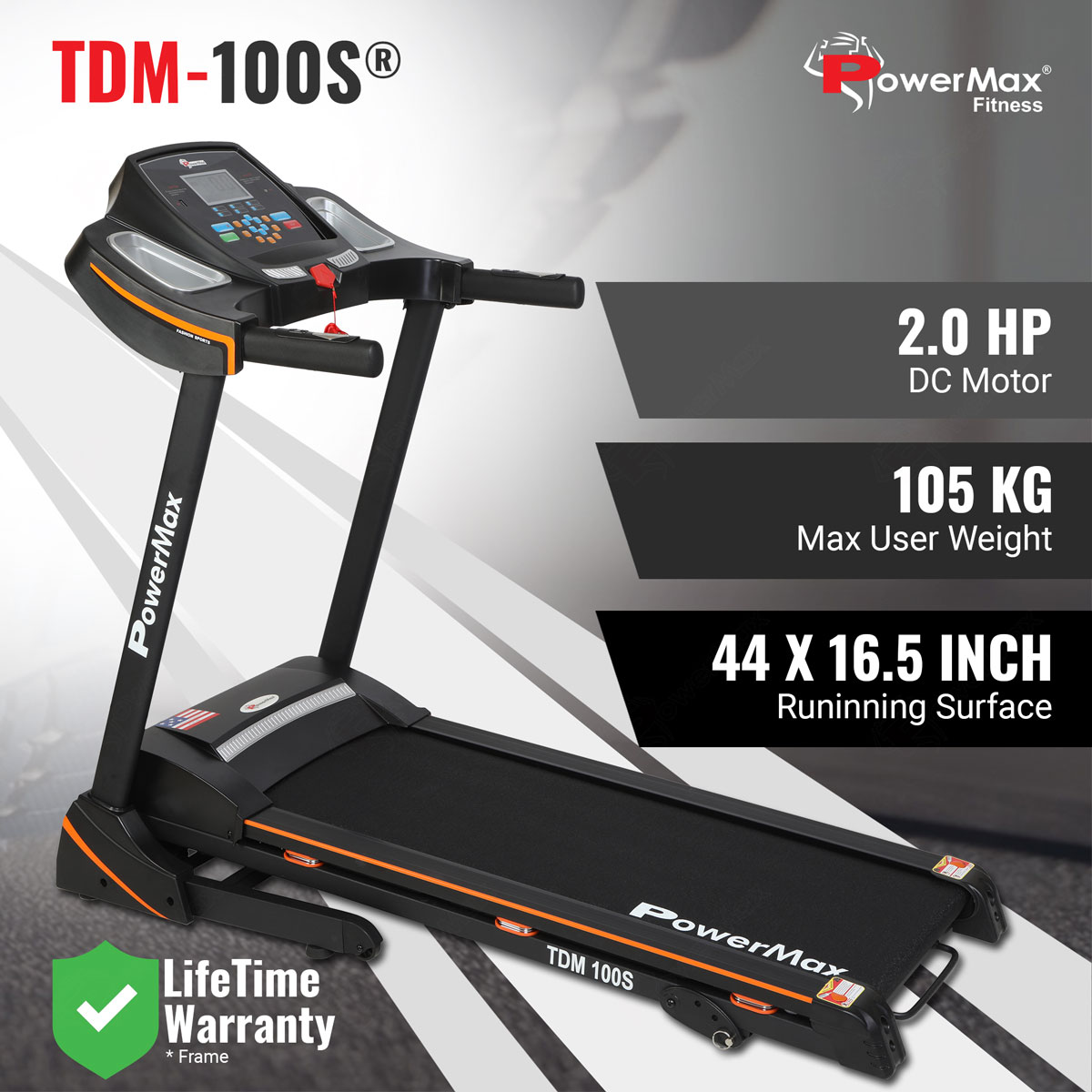 TDM-100S® With Jumping wheels and Semi-Auto Lubrication