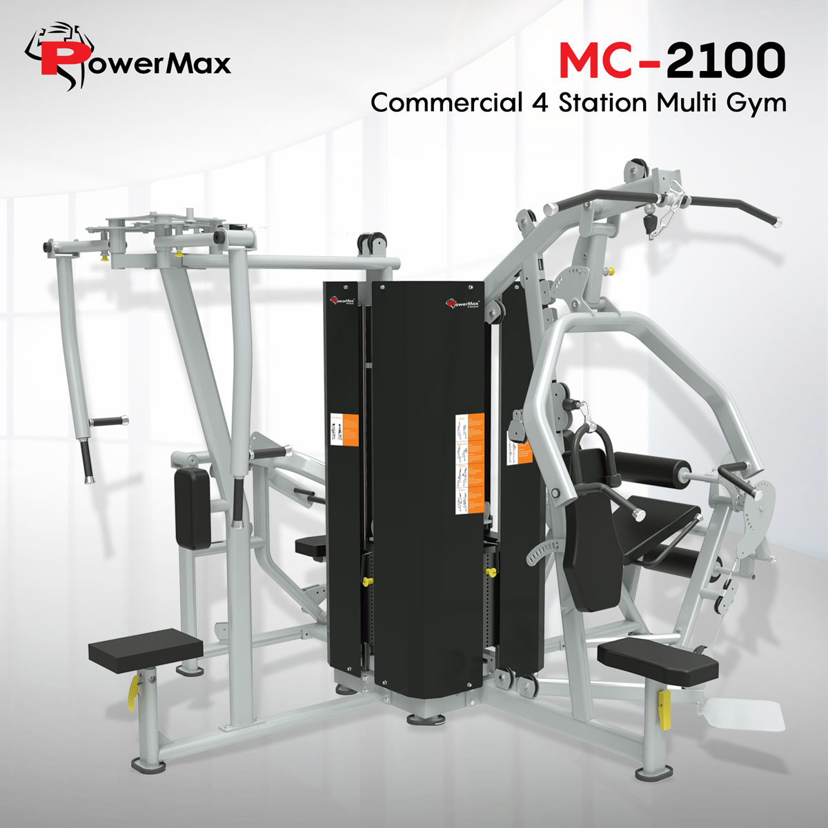 MC-2100 Commercial 4 Station Multi Gym