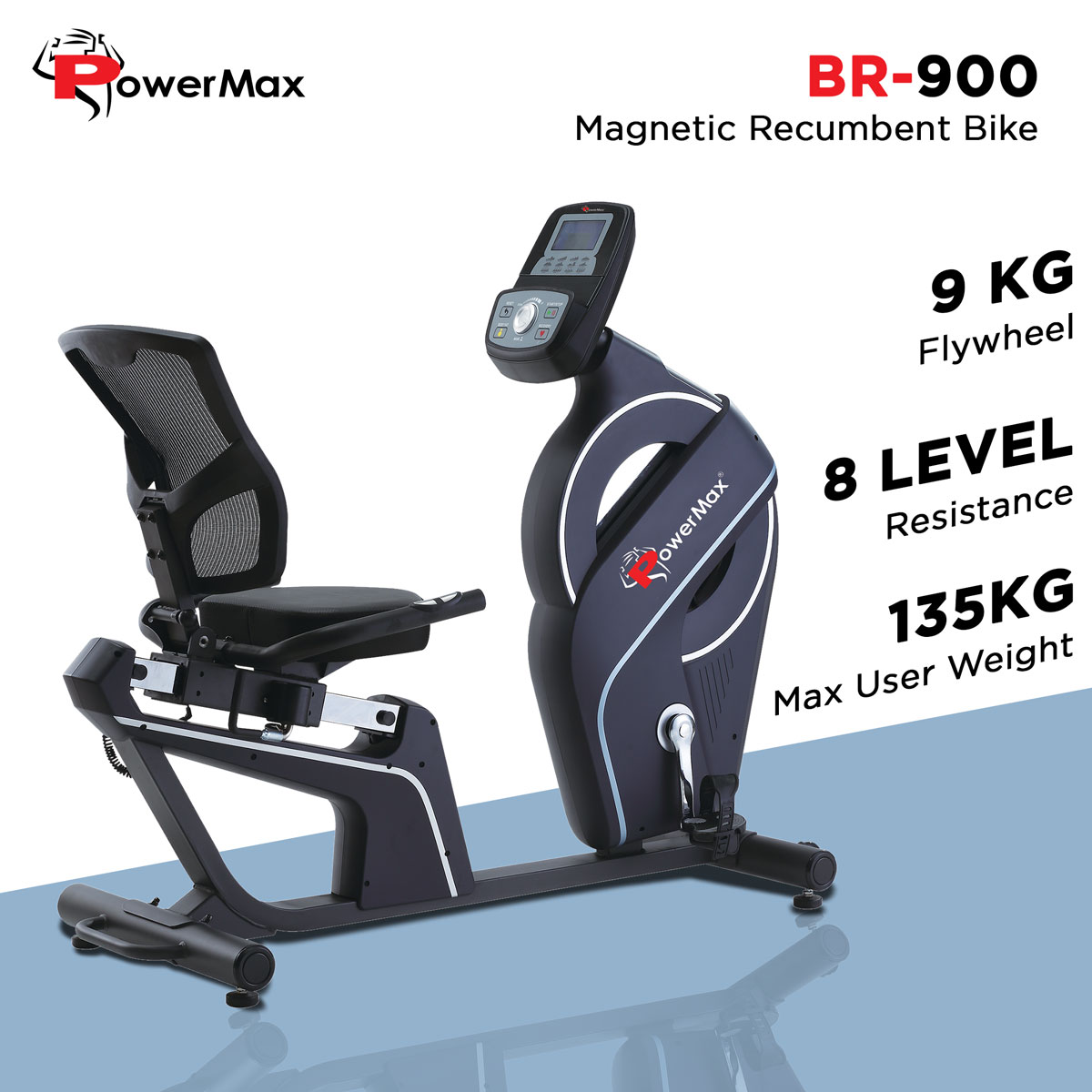 BR-900 Commercial Recumbent Bike