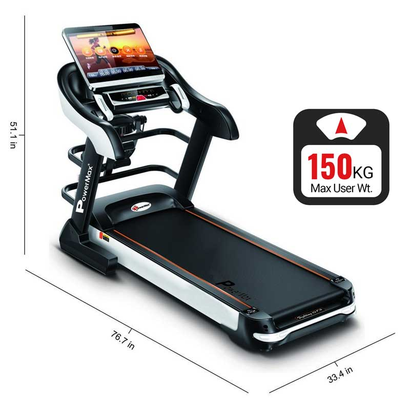 TDA-595 Multifunction Treadmill with 18.5