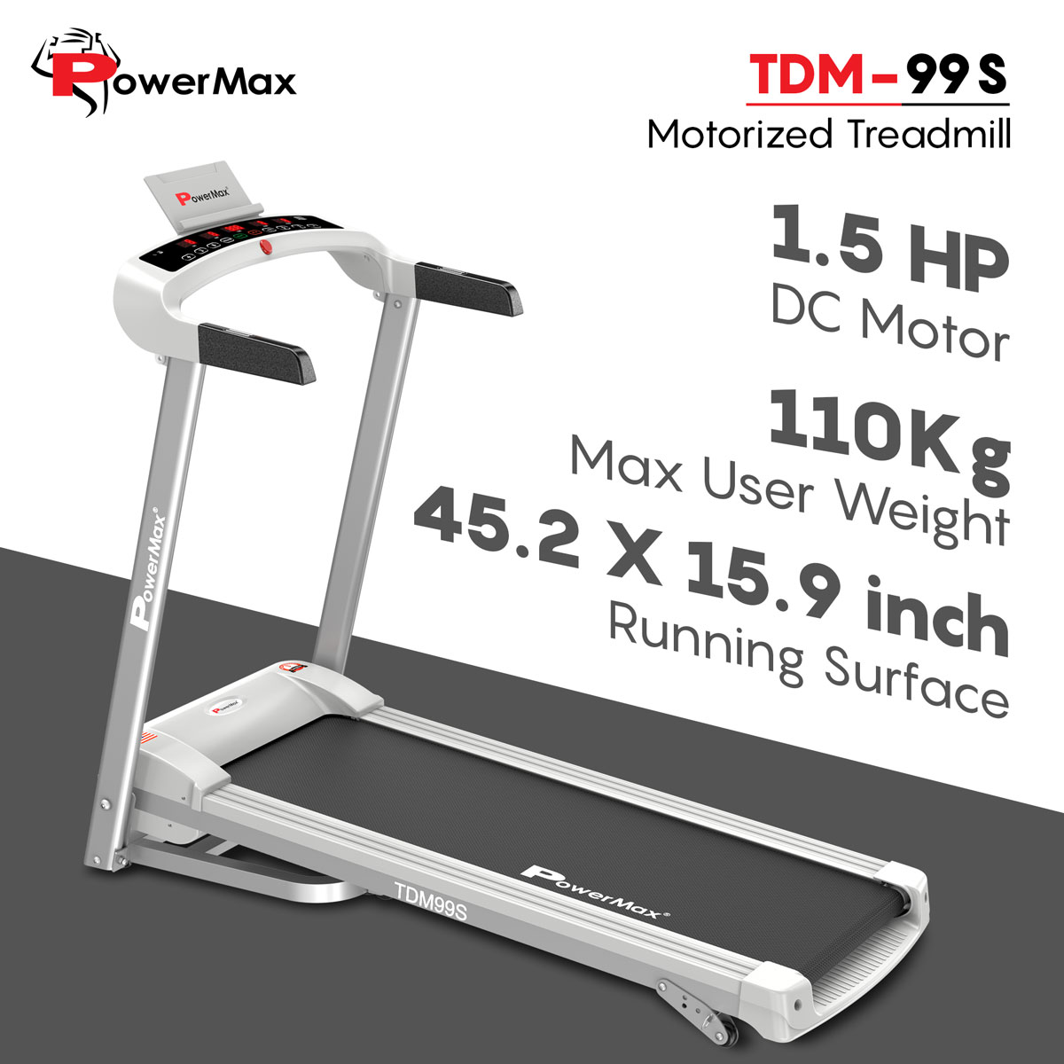 TDM-99S DC Motorized Treadmill