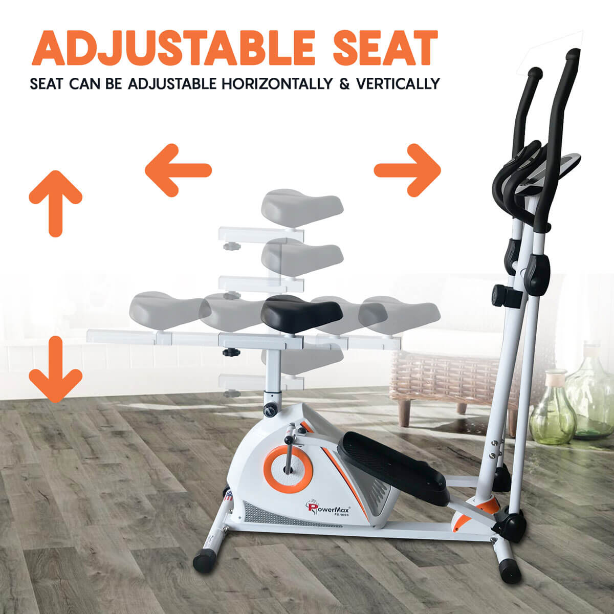 Cross Trainer with Seat