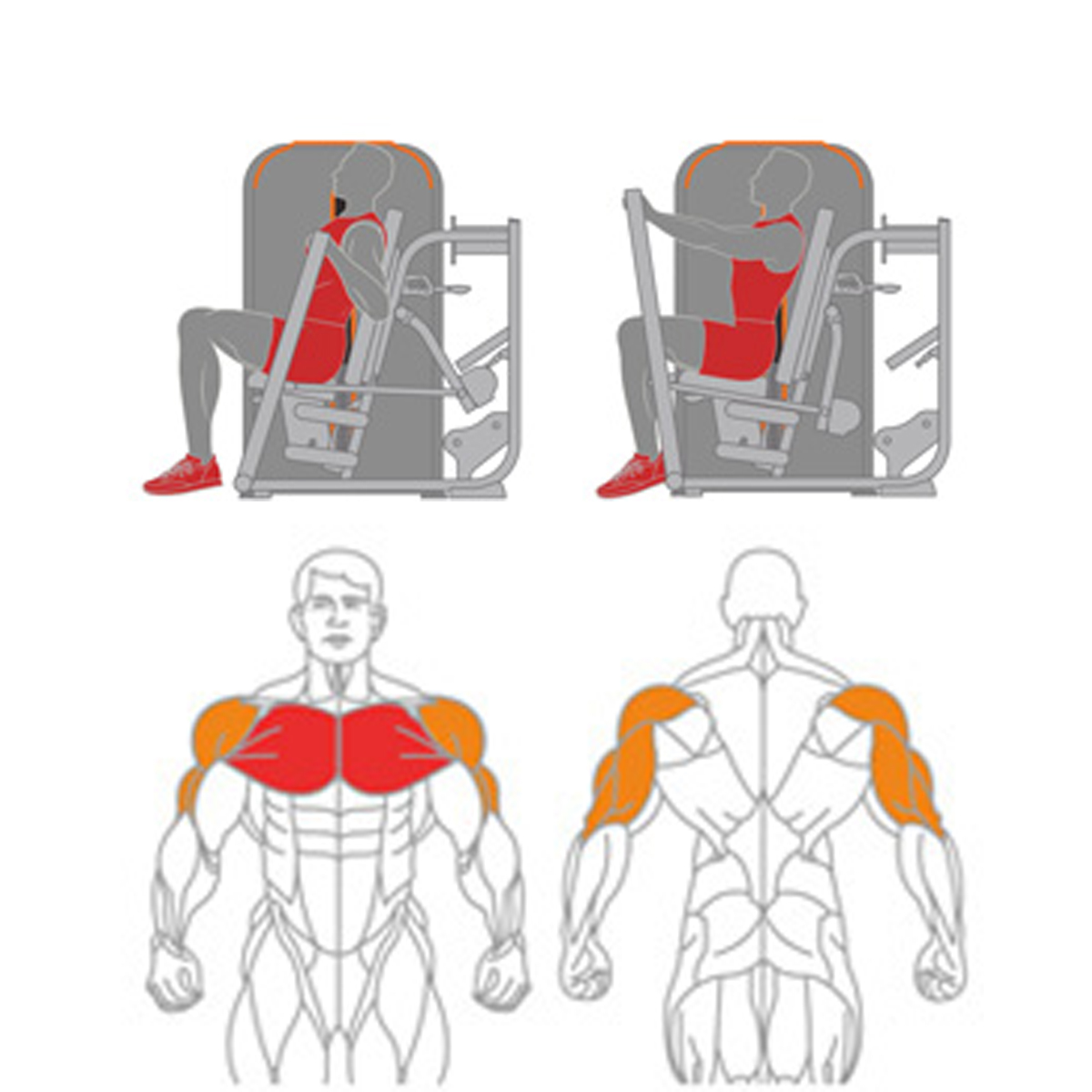 Converging Chest Press