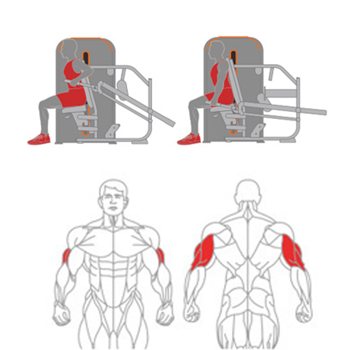 Tricep Seated Dip