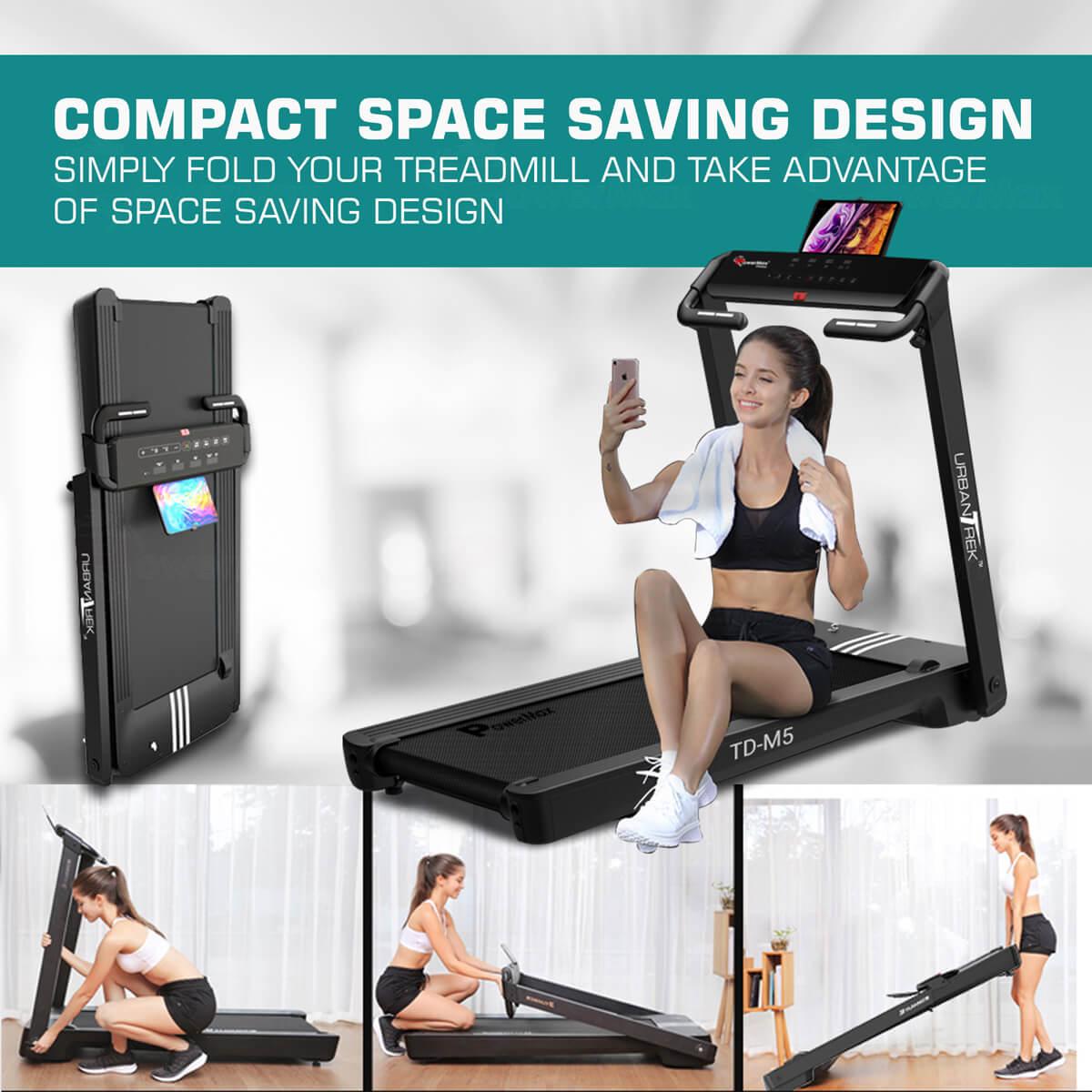 100% pre-installaled treadmill