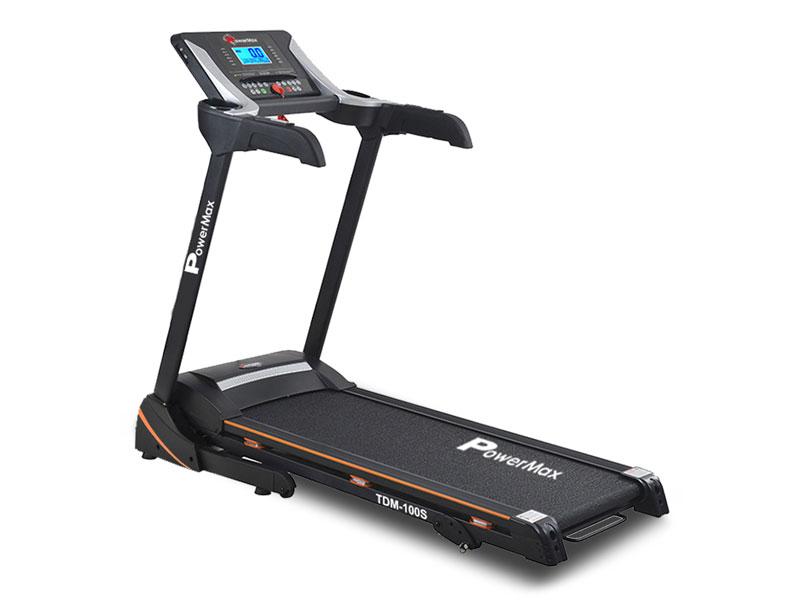 <b>TDM-100S-V2</b><sup>®</sup> Motorized Treadmill with Jumping Wheel & Auto Lubrication
