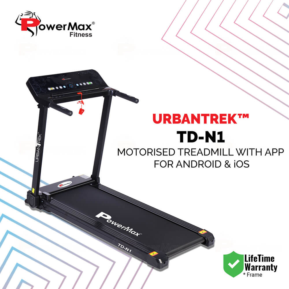 UrbanTrek™ TD-N1 Motorised Treadmill with App for Android & iOS And Bluetooth speakers