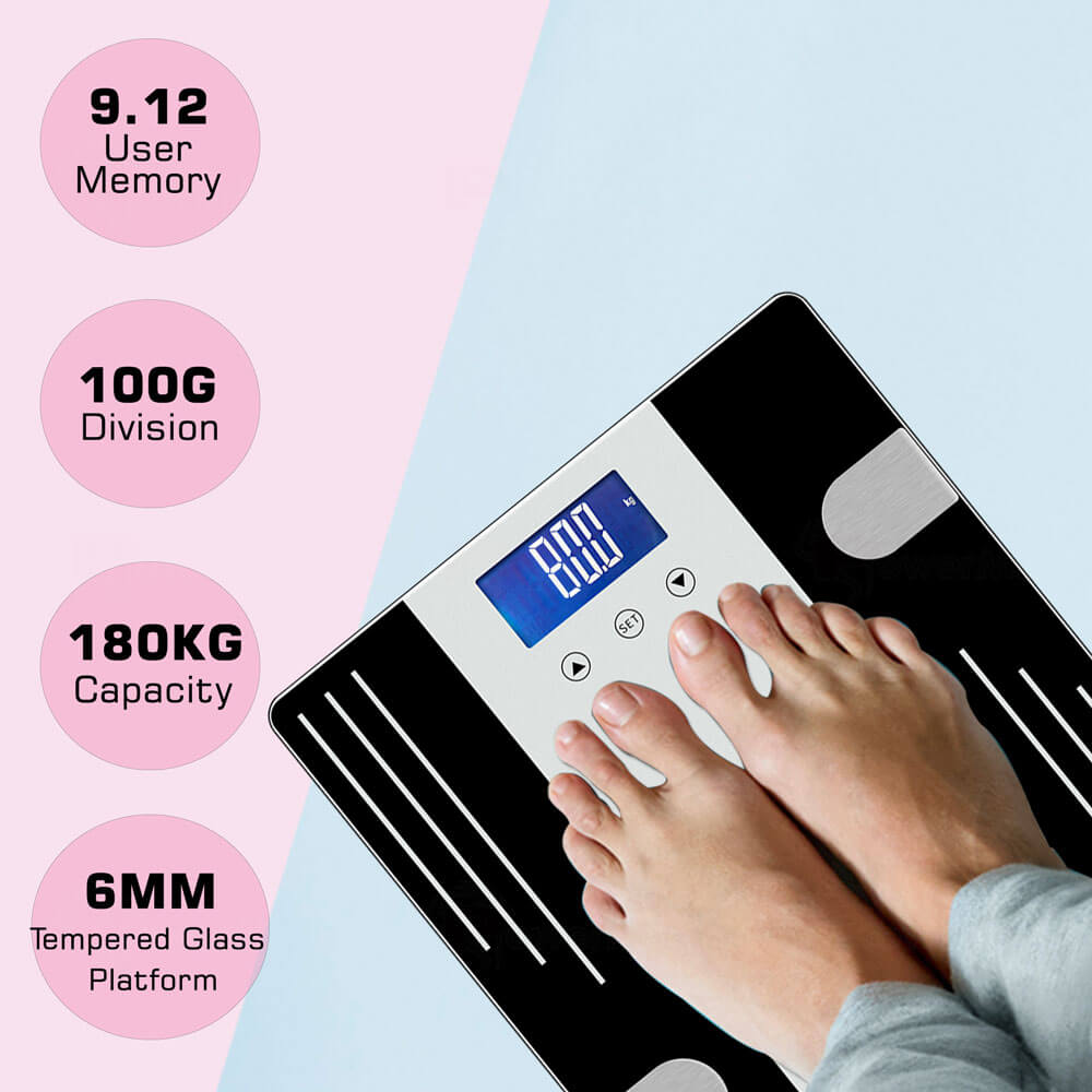 PowerMax Fitness BCA-07 Digital Body Composition Analyzer
