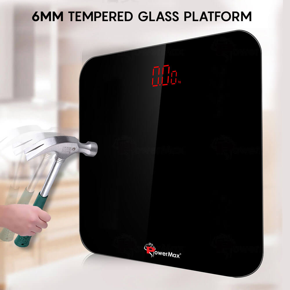 PowerMax Fitness BSD-3 Digital Personal Bathroom Body Weight Scale