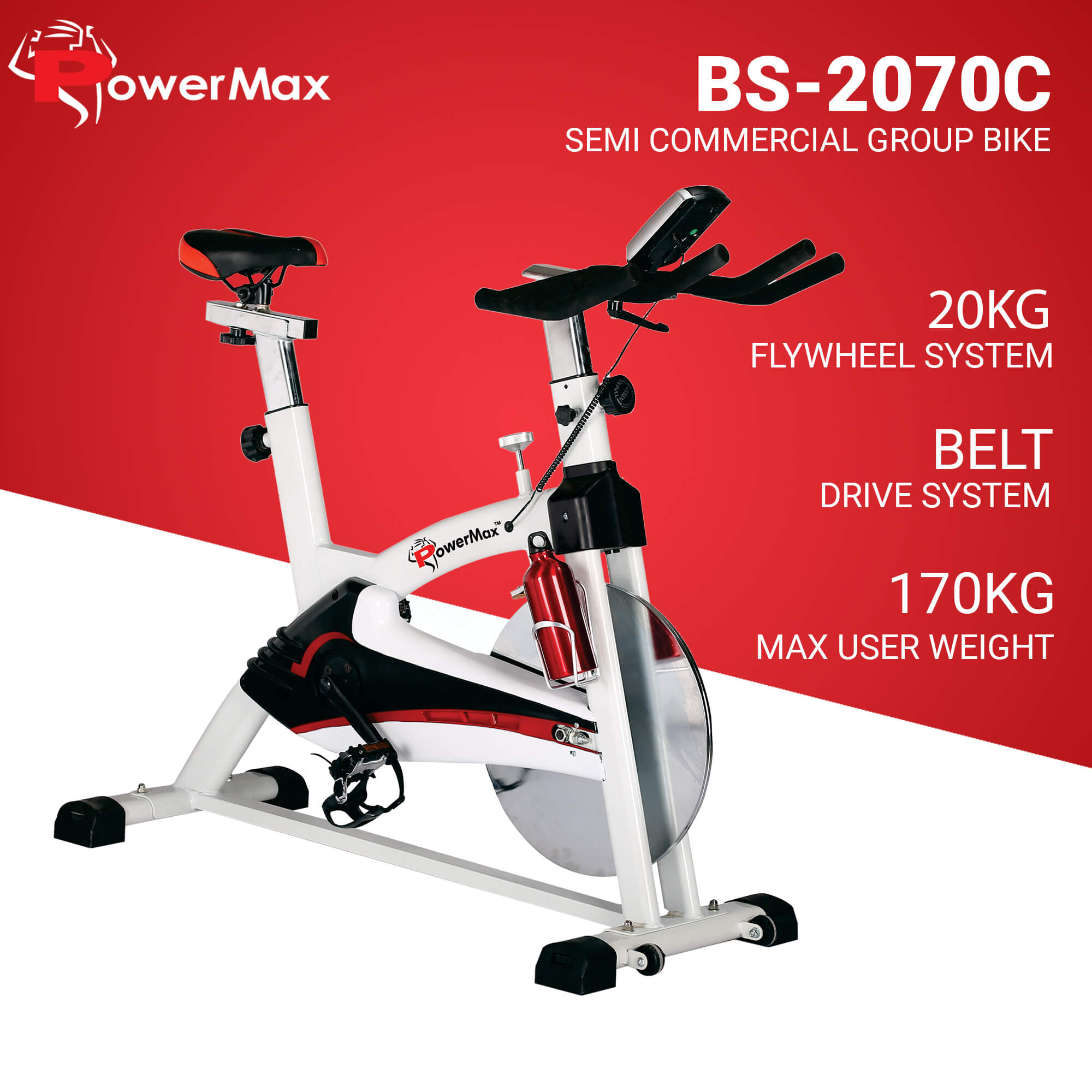 BS 2070C Home Use Group Bike with Free Shipping