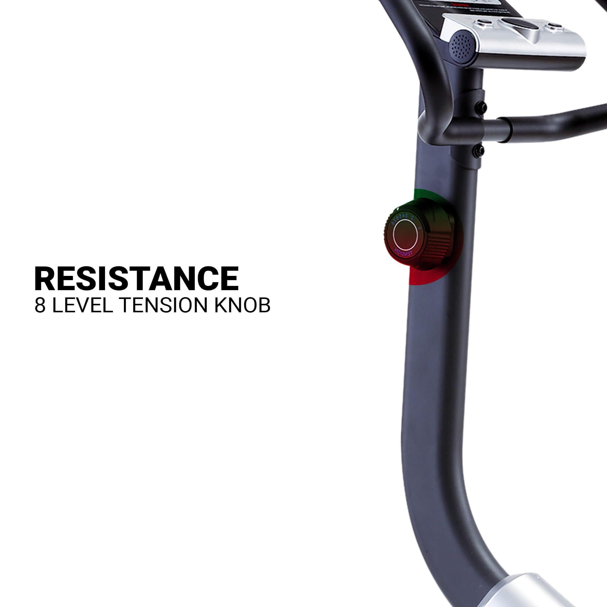 BU-700 Magnetic Upright Bike