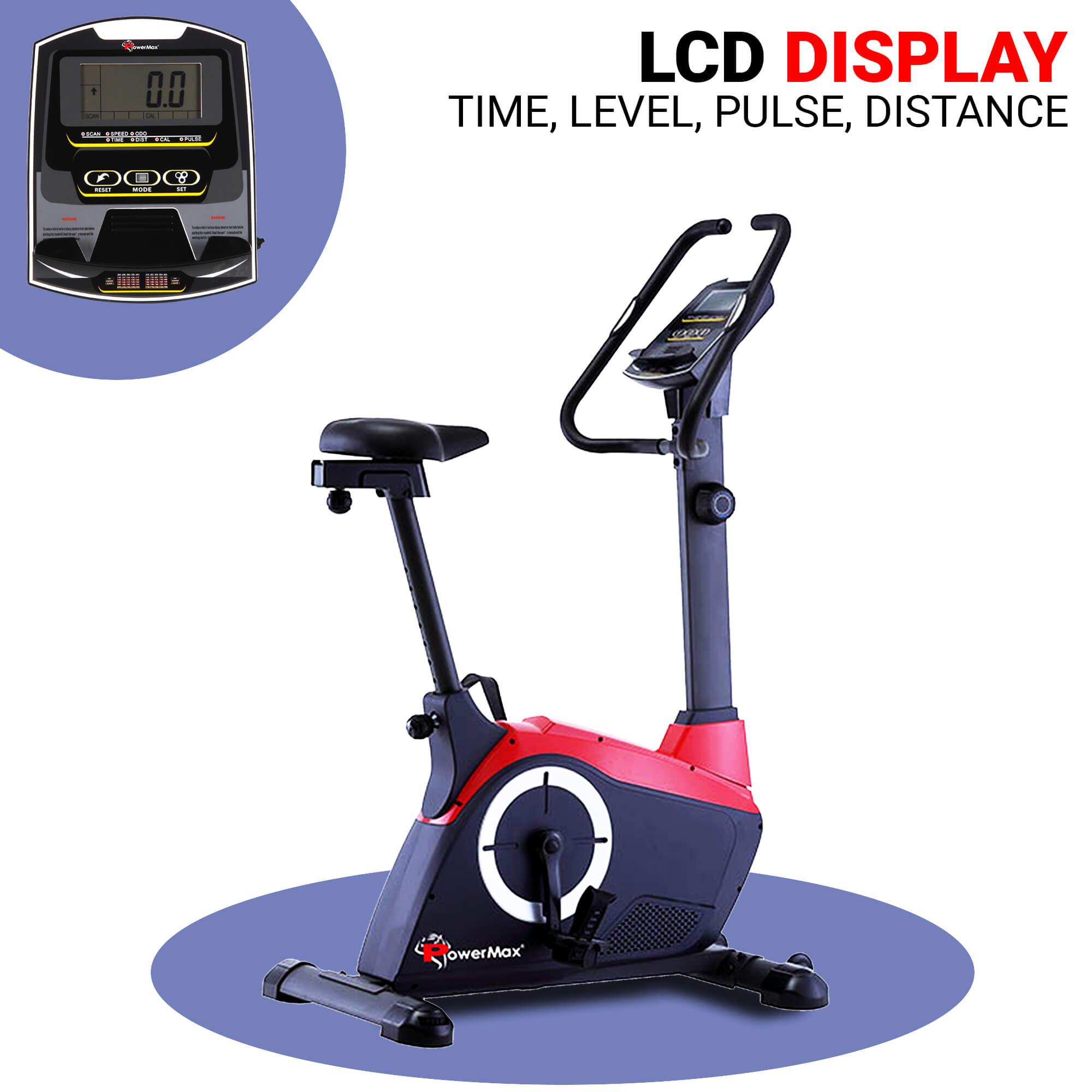 BU-800 Magnetic Upright Bike