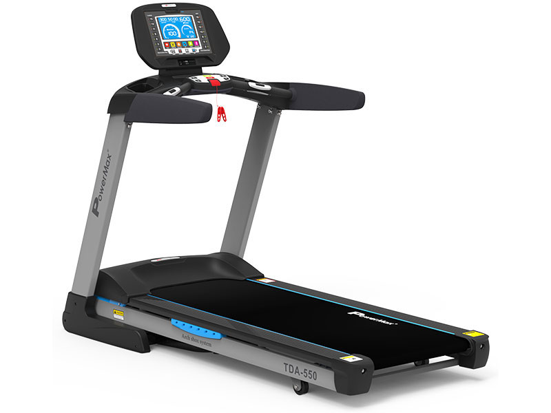<b>TDA-550<sup>®</sup></b>  Motorised Treadmill with 400m Track UI
