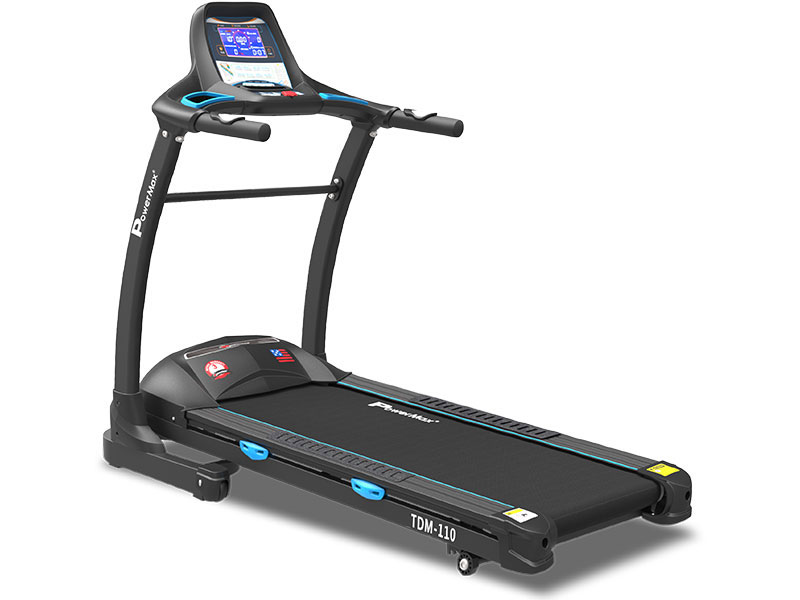 <b>TDM-110<sup>®</sup></b> Motorized Treadmill with 18.2CM Vivid Color Display