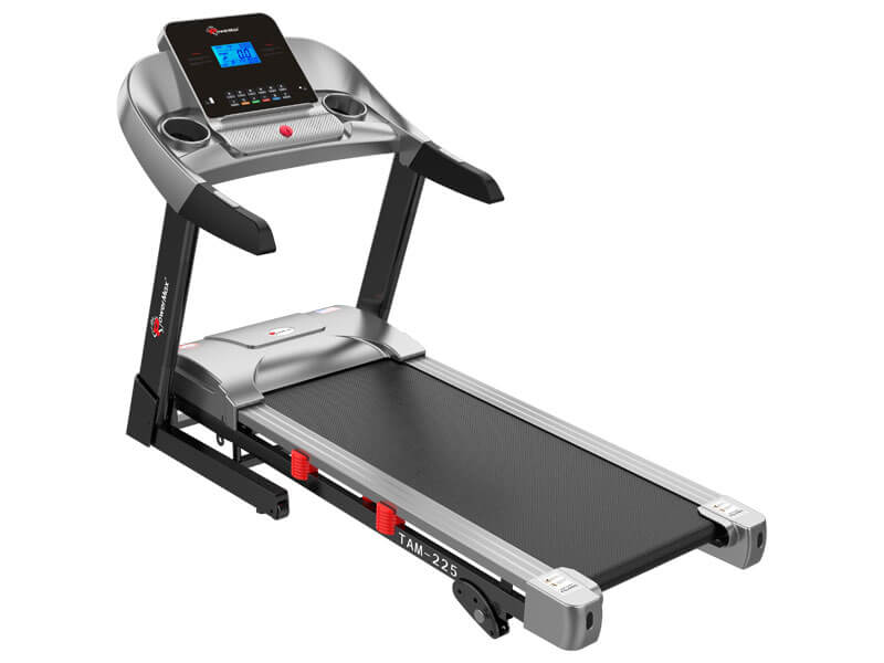 <b>TAM-225<sup>®</sup></b> AC Motorized Treadmill with MP3 & iPad Holder
