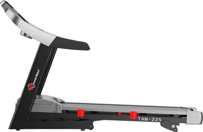 TAM-225 AC Motorized Treadmill with MP3 & iPad Holder