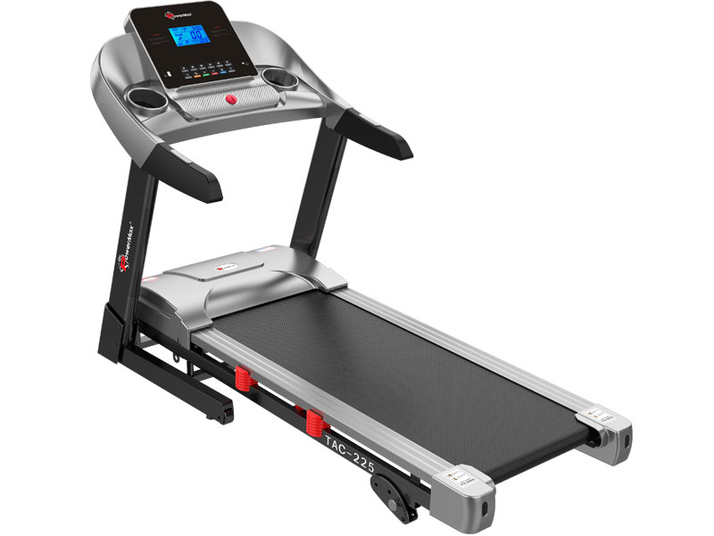 <b>TAC-225<sup>®</sup></b> AC Motorized Treadmill with MP3 & iPad Holder