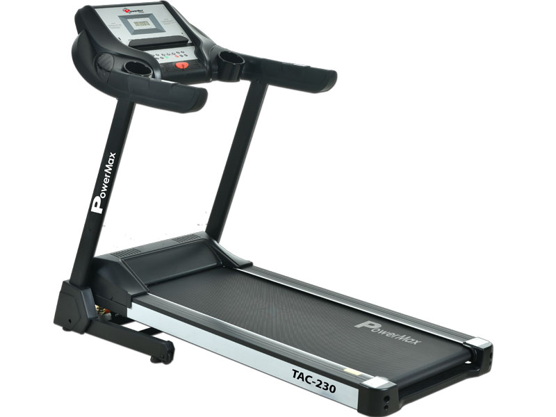 <b>TAC-230<sup>®</sup></b> AC Motorized Treadmill with Auto Incline, MP3 & iPad Holder