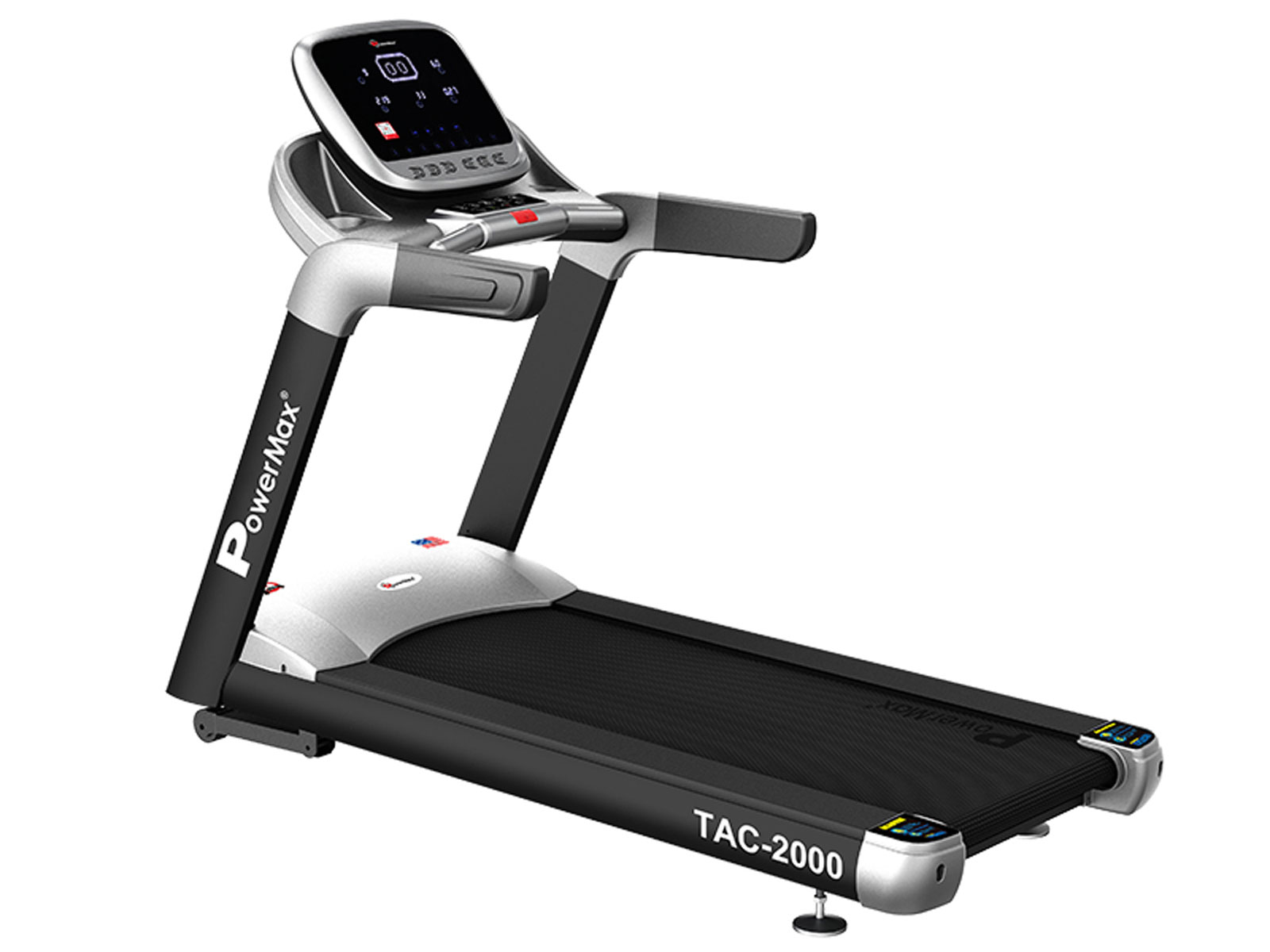 <b>TAC-2000<sup>®</sup></b> Commercial AC Motorized Treadmill with Mobile App
