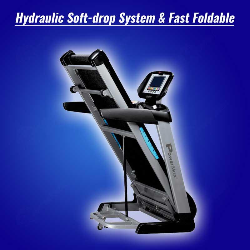 TDA-550 Motorised Treadmill with 400m Track UI