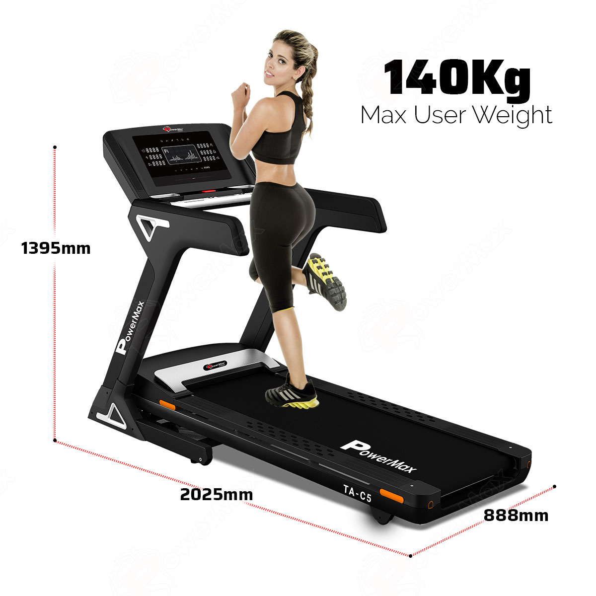 TA-C5 Commercial Motorized AC Treadmill