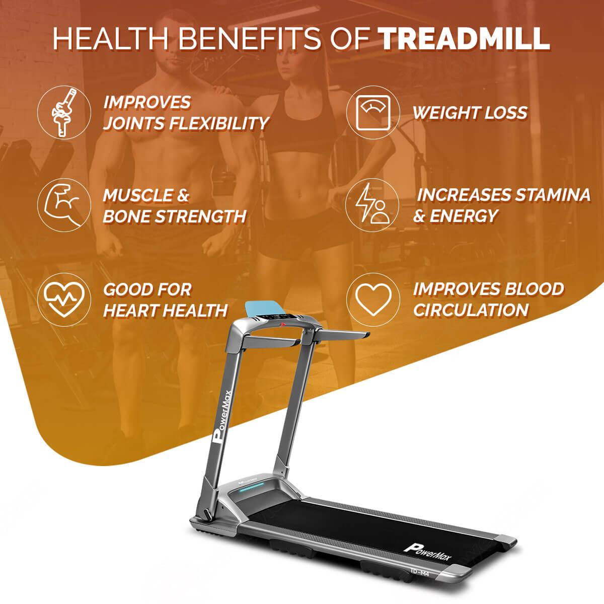 UrbanTrek TD-M4 Motorized Ultra-Compact Foldable Treadmill with Smartphone App