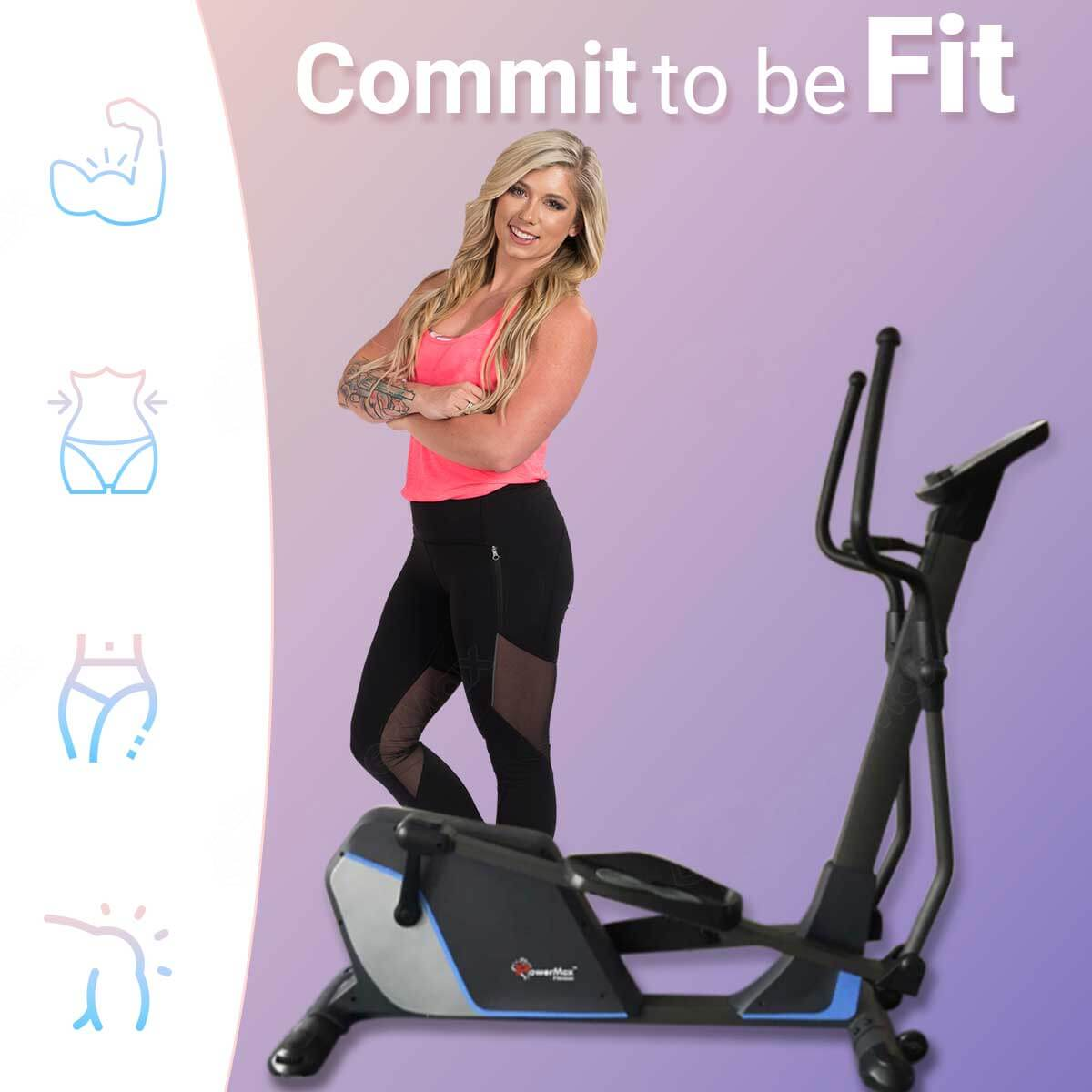 EH-600 EMS - Light Commercial Elliptical Trainer