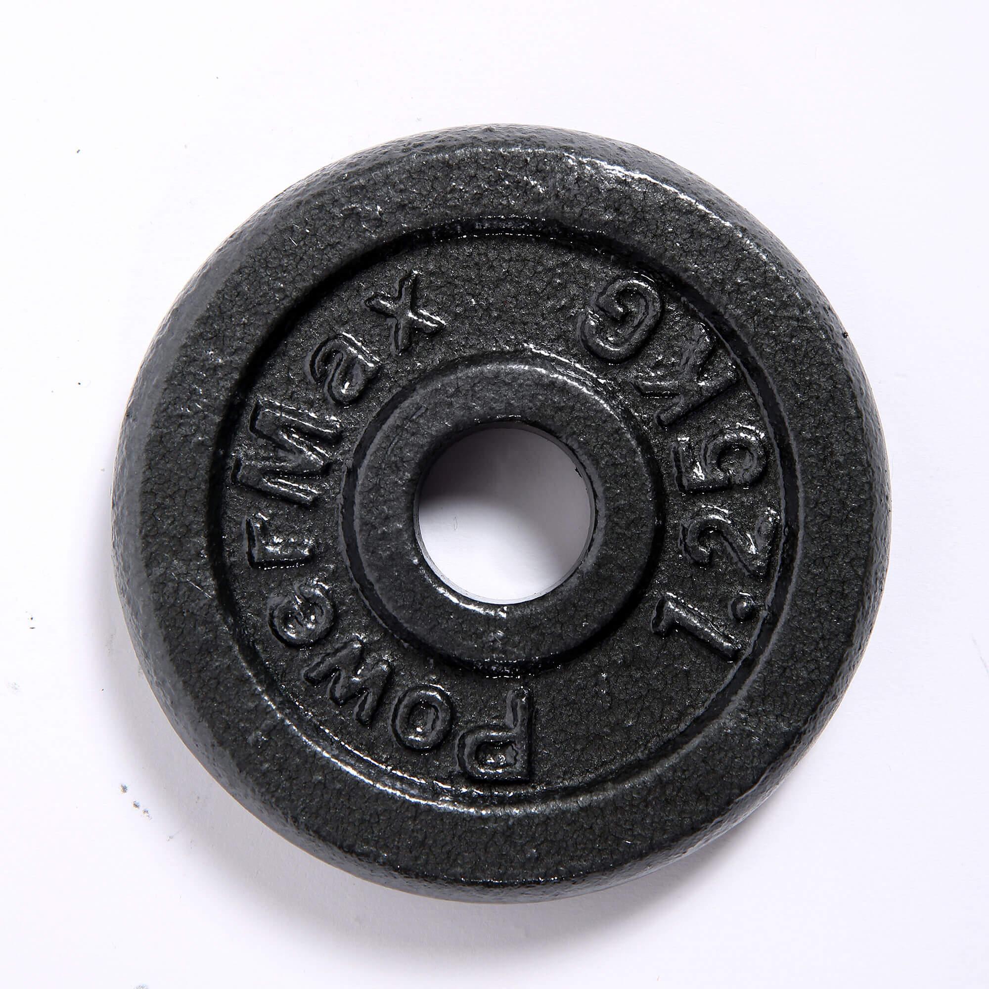 PDS-20Kg Dumbbells Set Metal Plates + Dumbbell Rods Home Gym