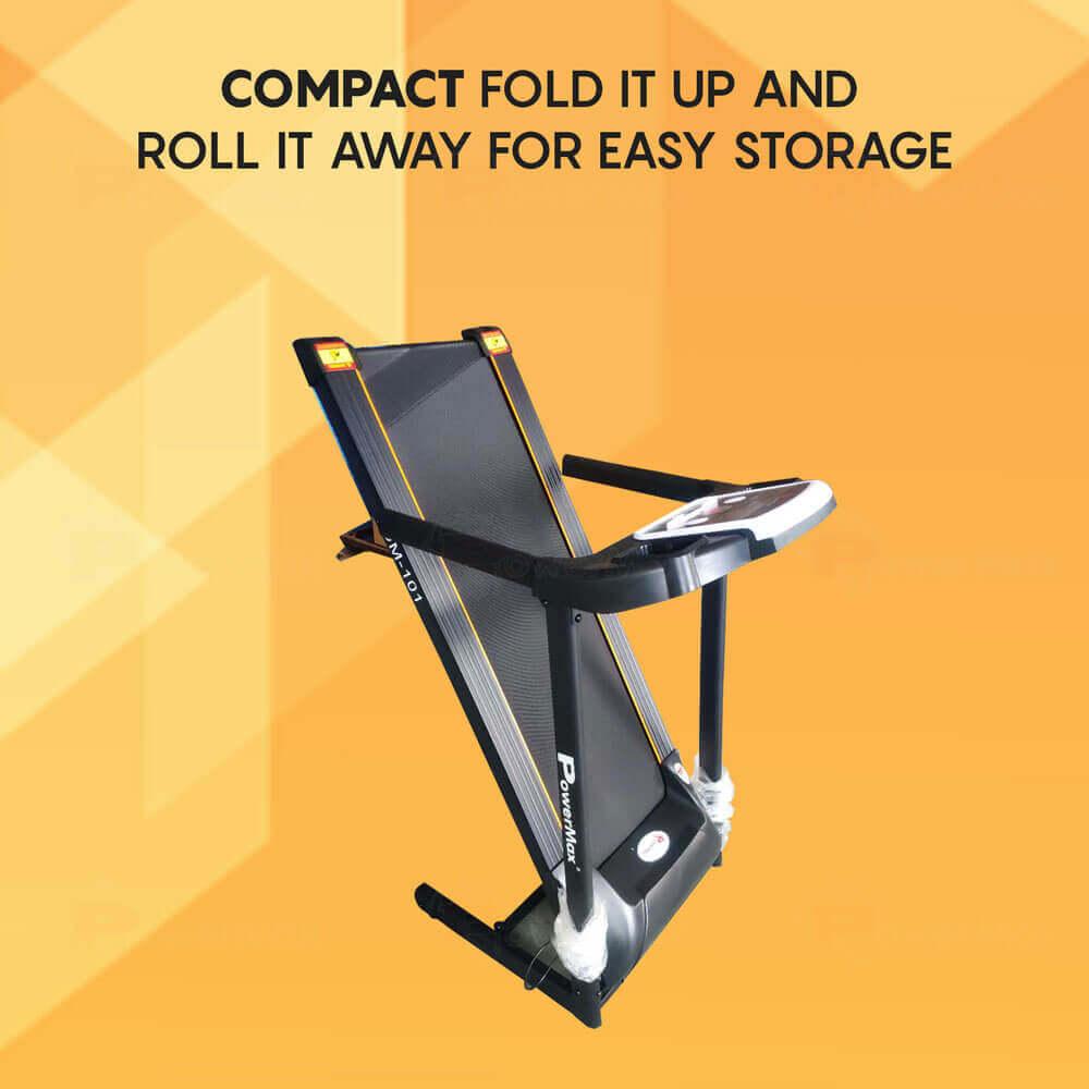 TDM-101 Motorized Treadmill with MP3 & iPad holder