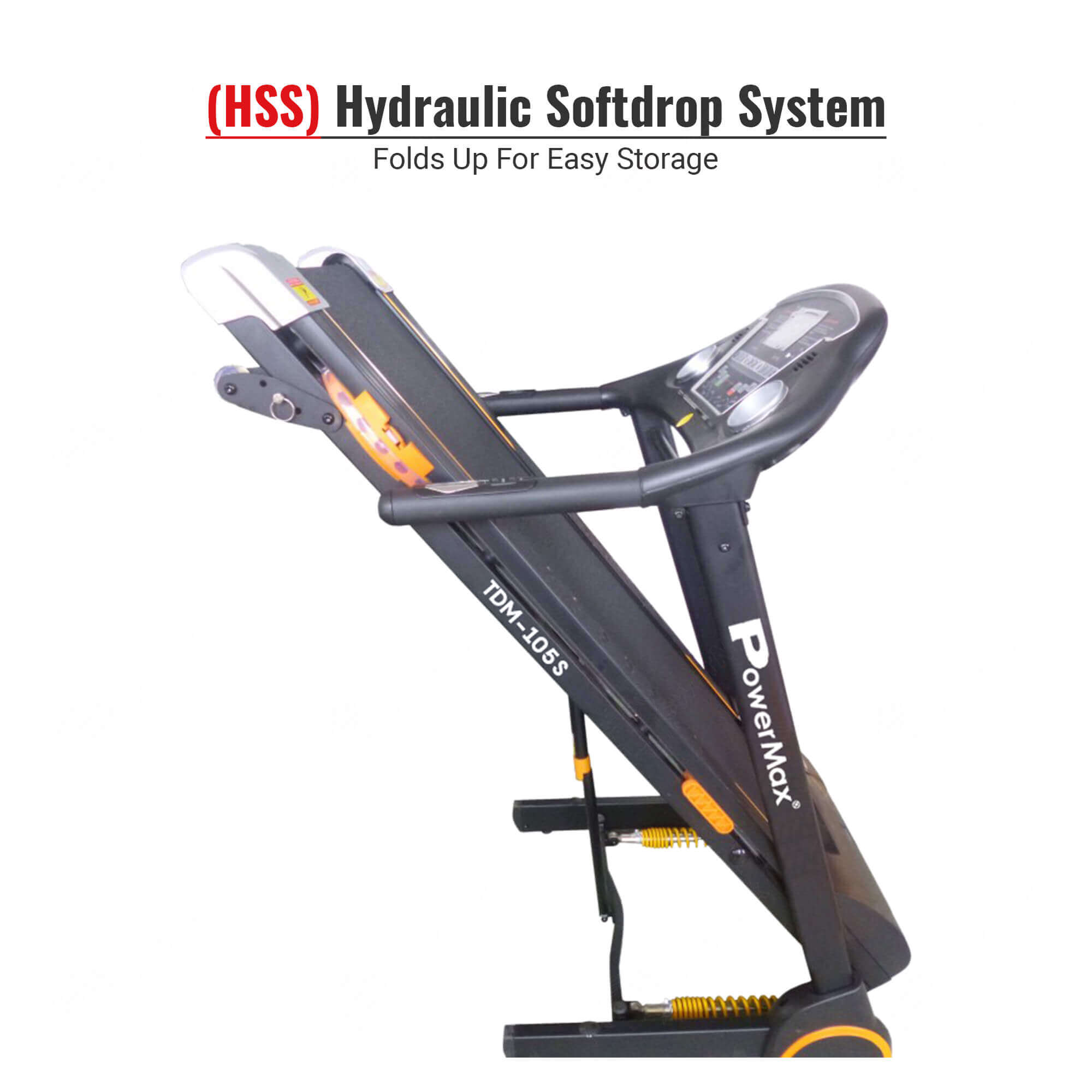 TDM-105S Semi-Auto Lubricating Treadmill