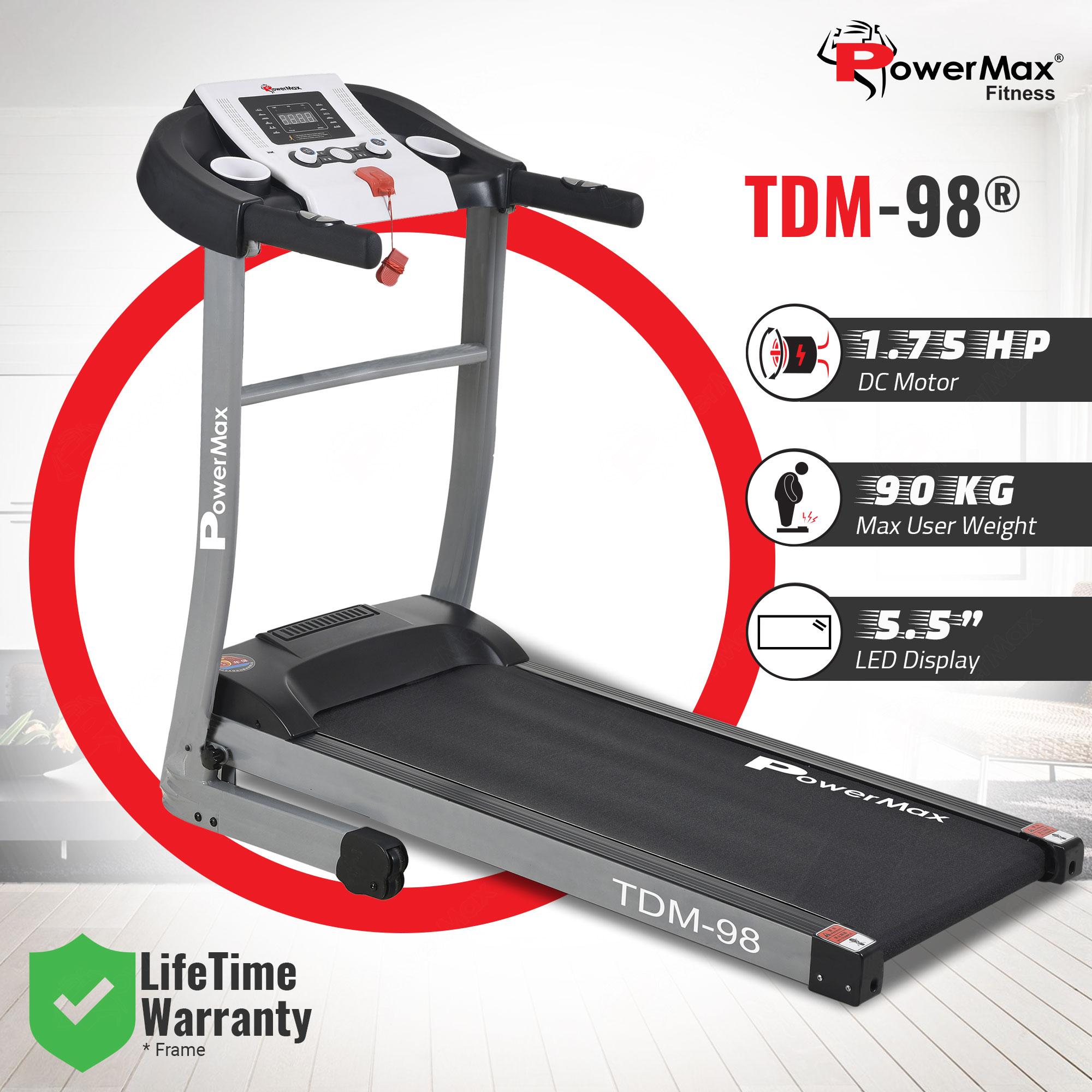 TDM-98 Motorised Treadmill