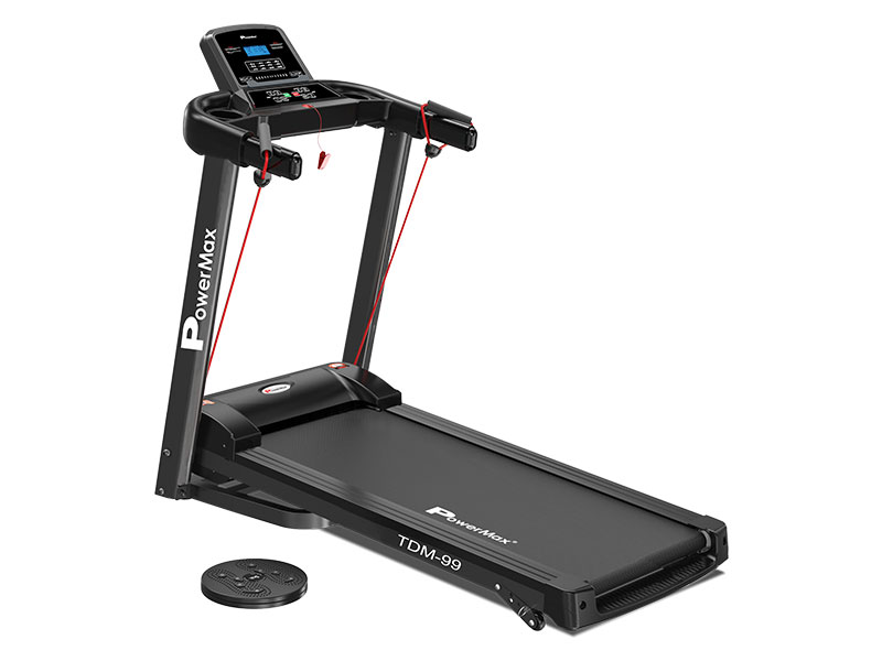<b>TDM-99<sup>®</sup></b> Multi-function treadmill with Twister and Resistance Ropes