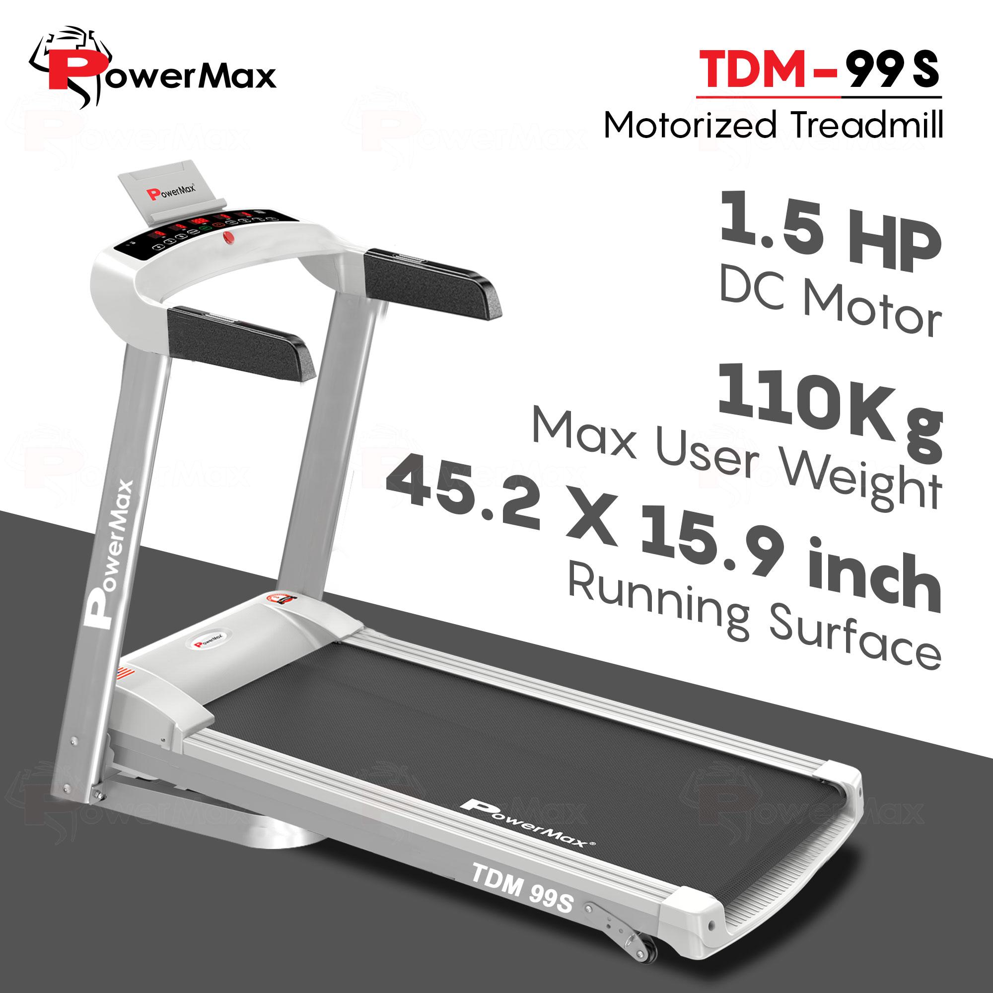 TDM-99S Motorised Treadmill