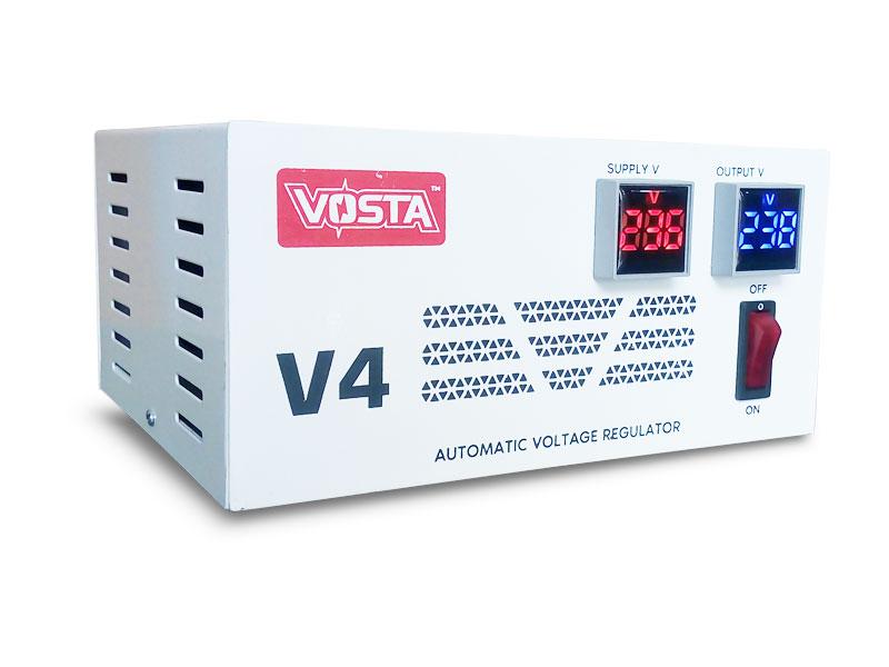 Vosta <b>V4</b> Digital Stabilizer - Input: 180~270 VAC & Output: 220 VAC (±9%)