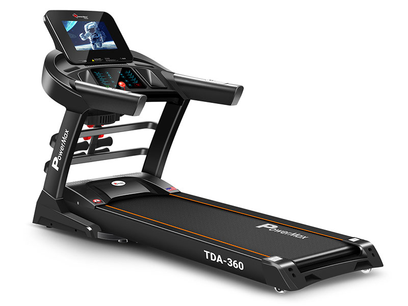 <b>TDA-360</b><sup>®</sup> 10.1inch HD Display Motorized Treadmill with Auto Incline